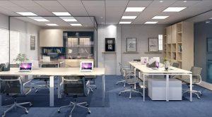 Office interior design in Hanoi