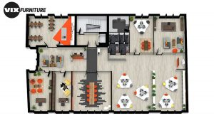 Office blueprint