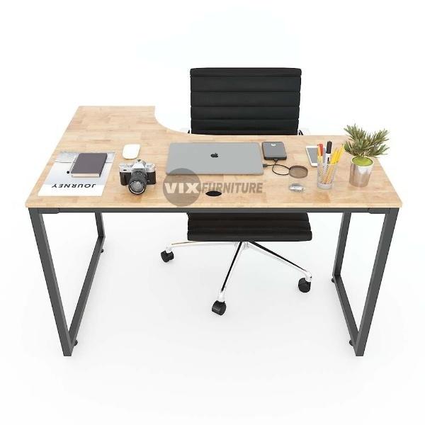 L-shaped corner table VIXCD68011